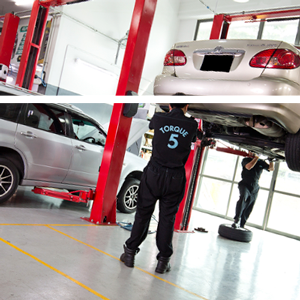 Car workshops in Dubai